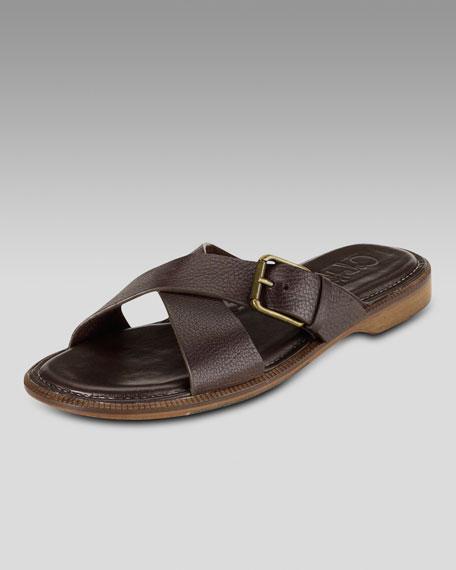 Macao Buckle Slide Sandal