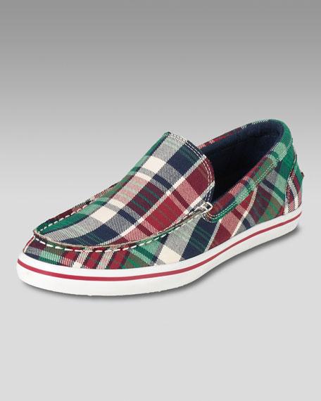 Air Newport Slip-On Sneaker, Plaid