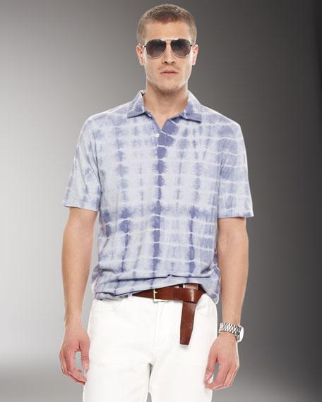 Tie-Dye Polo, Stonewash