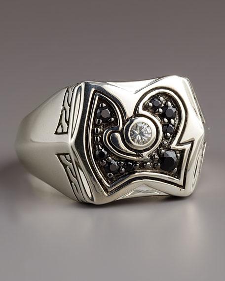 Dayak Black Sapphire Ring