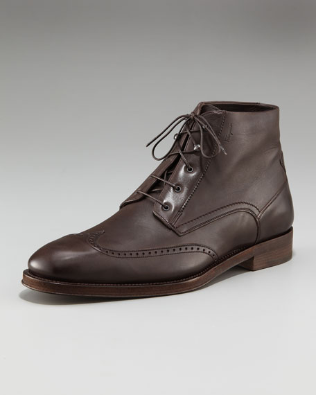 Clement Wing-Tip Boot