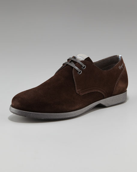 Motion Suede Derby Shoe
