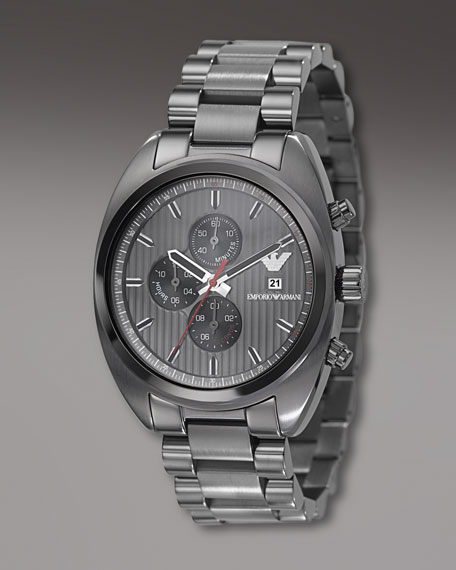 Sport Chronograph Watch, Gray