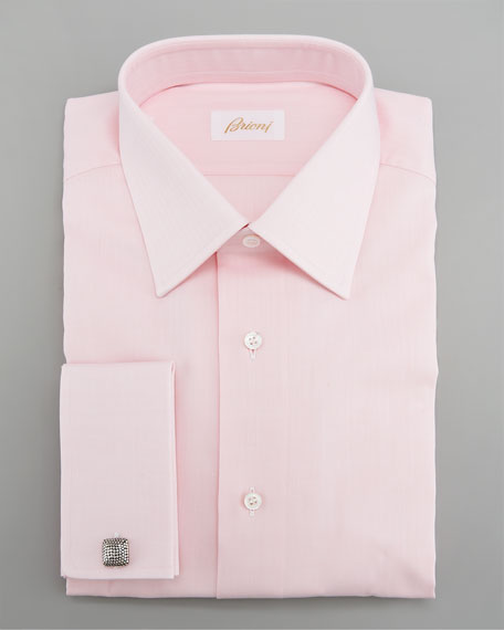 French-Cuff Dress Shirt, Pink