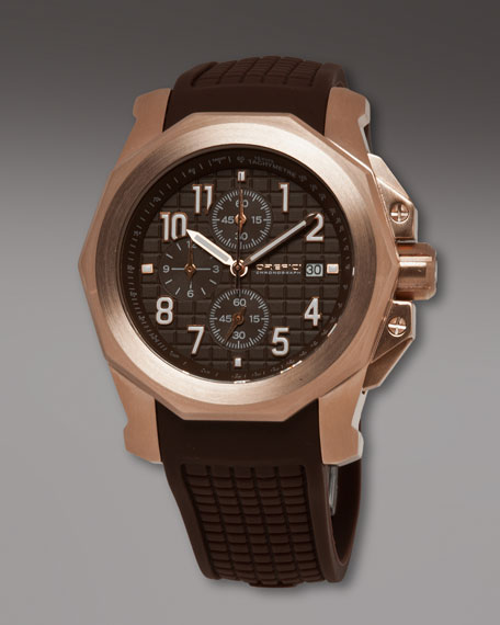 Galante Chronograph Watch, Brown