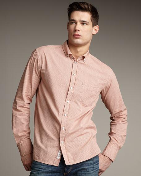 Small-Check Gingham Shirt