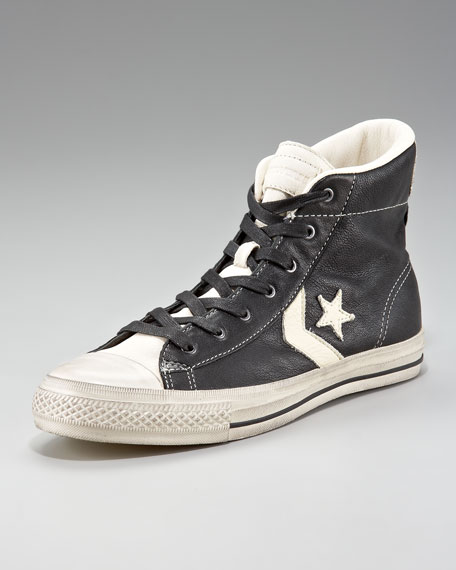 Star Player Leather Hi-Top