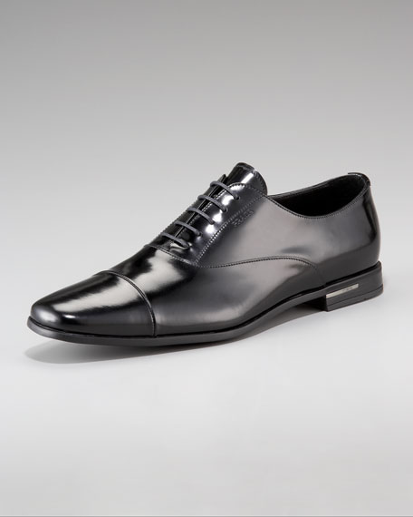 Cap-Toe Lace-Up Oxford