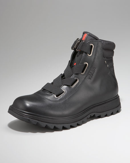 Cross-Strap Hiker Boot