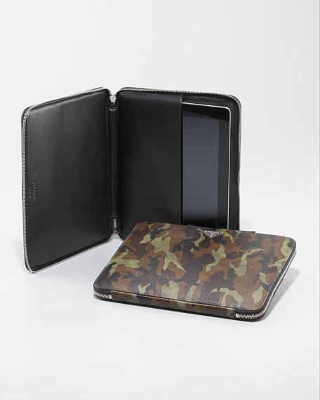 Camo Saffiano iPad Case
