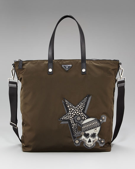 Nylon Tattoo Tote