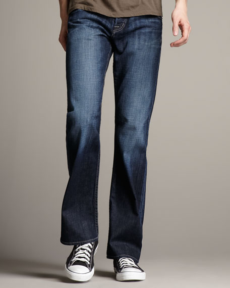 Boot-Cut Wickham Jeans