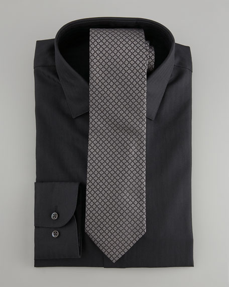 Squares Tie, Black