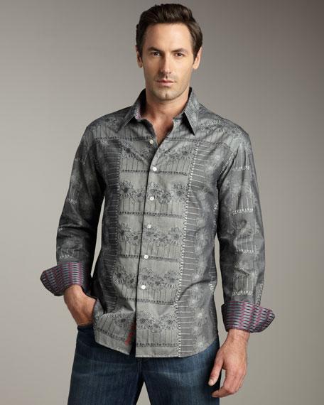 Floral Woven Shirt