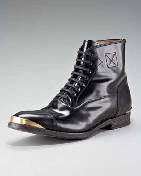 Metal-Toe Boot