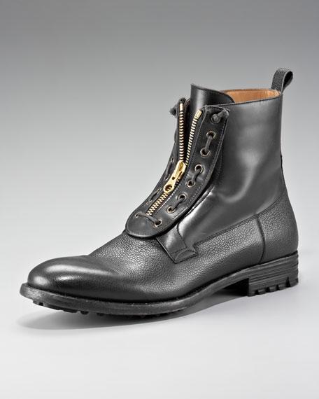 Front-Zip Boot
