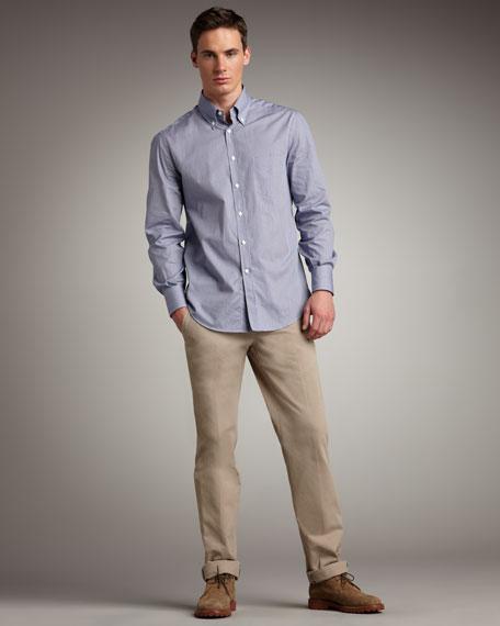 Side-Tab Pants
