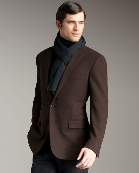 Cashmere Jersey Scarf