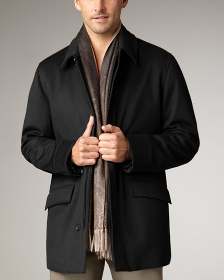 Anytime Cashmere Storm System Jacket