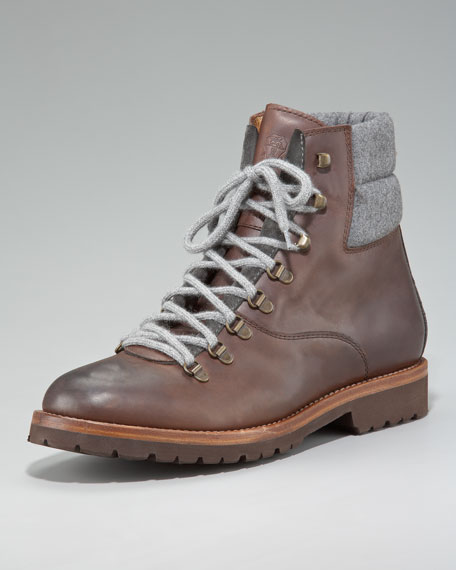 Leather Hiker Boot