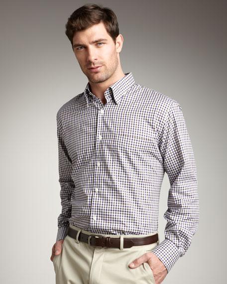 Check Woven Shirt, Shiraz