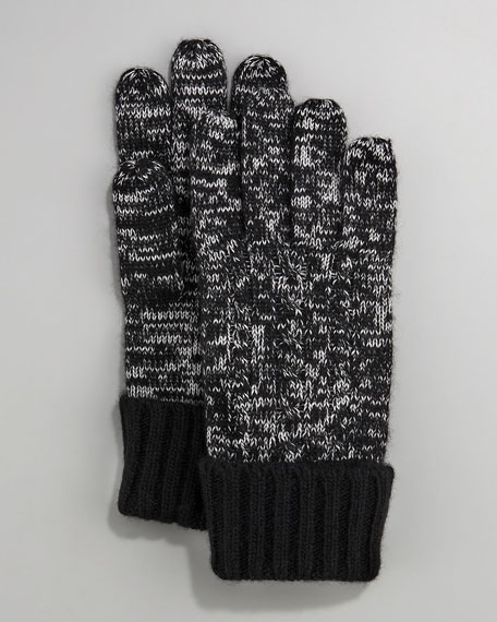 Touch-Screen Cashmere Glove, Black