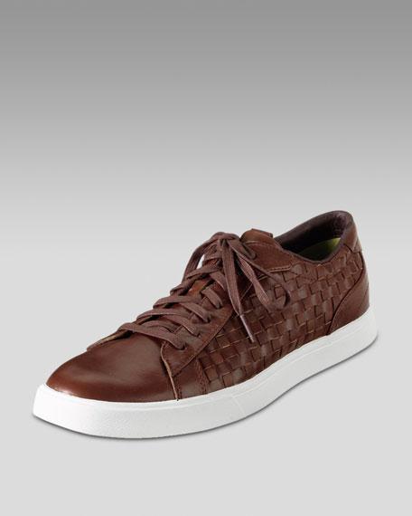 Lunar Coos Woven Sneaker, Bourbon