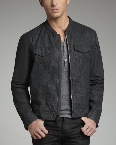 Water-Resistant Denim Jacket