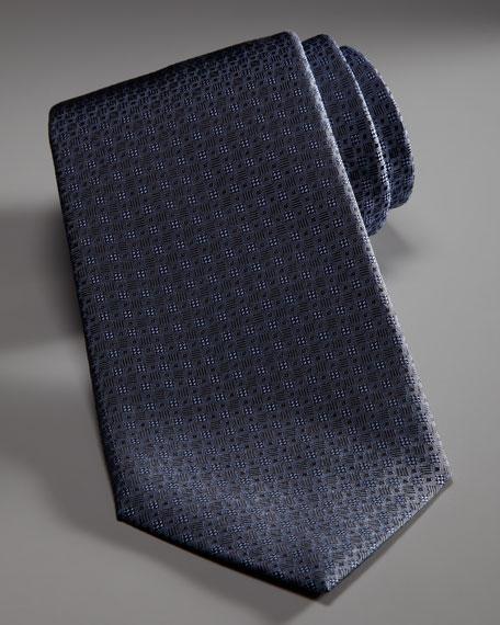 Micro-Neat Tie, Blue