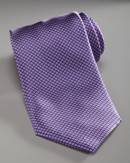 Mini-Grid Tie, Purple