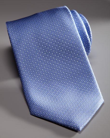 Tonal Neat Tie, Light Blue