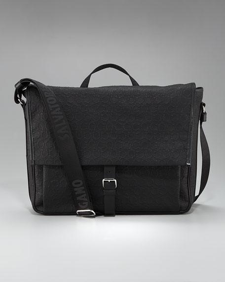 Miami Linen Messenger Bag