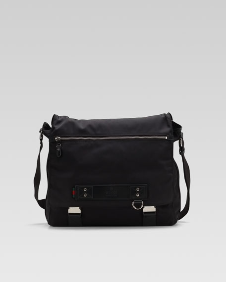 Trench Flap Messenger Bag