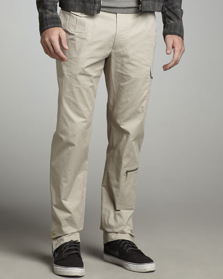 Cargo Pants, Light Khaki