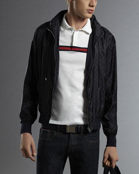 Water-Repellent GG Track Jacket