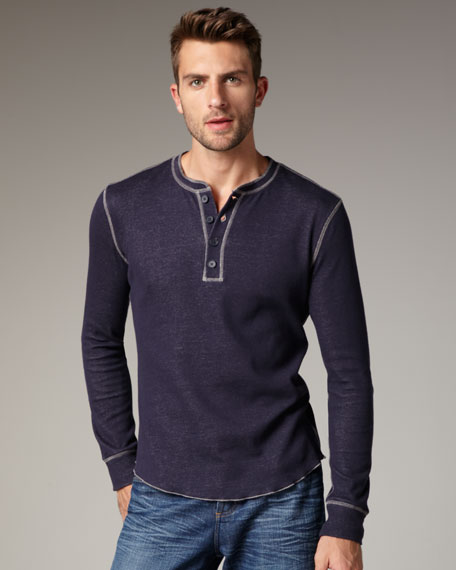 Plated Thermal Henley
