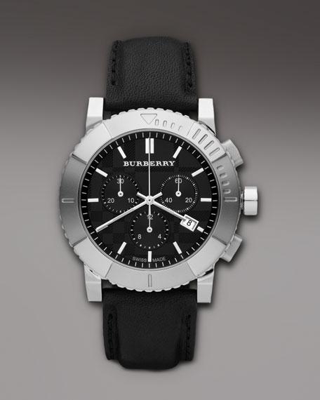 Endurance Chronograph Watch, Black