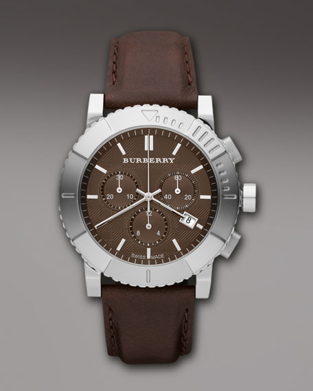 Endurance Chronograph Watch, Brown
