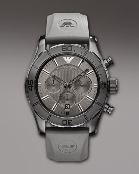 Sportivo Chronograph Watch, Gray