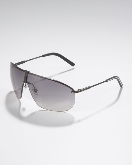 Semi-Matte Shield Sunglasses