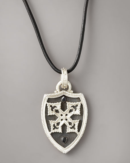 Shield Cord Necklace