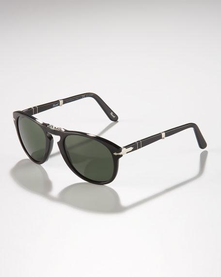 Polarized Folding Sunglasses, Black