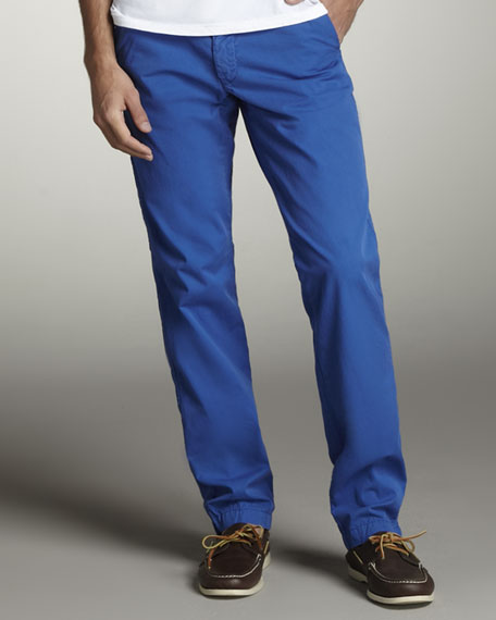 Bellmont Slim Pants, Cobalt