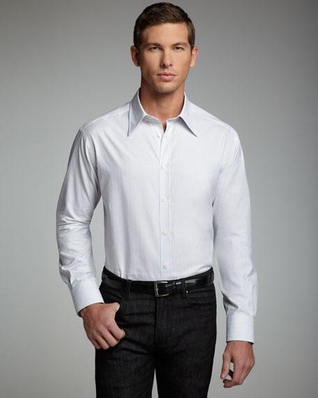 City Fit Sport Shirt, Gray