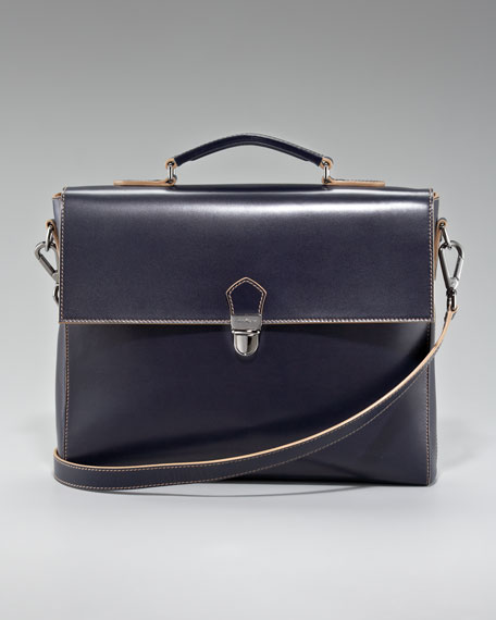 Shoulder-Strap Briefcase