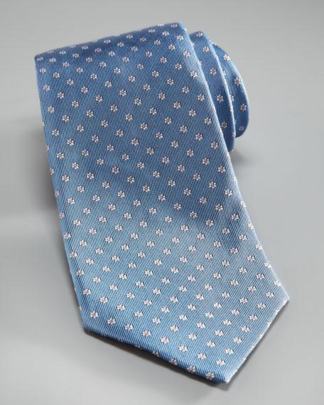 Floral Jacquard Tie