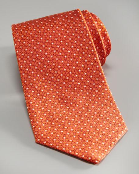 Diagonal Gancini Tie