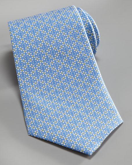 Gancini & Flower Tie