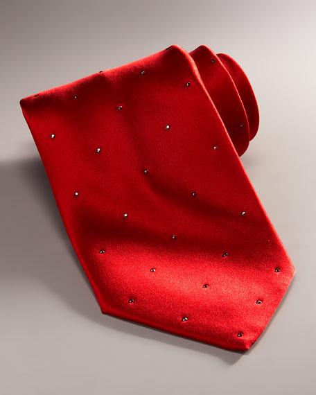 Crystal Tie, Red