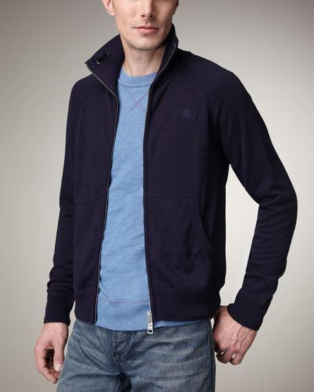 Front-Zip Logo Jacket